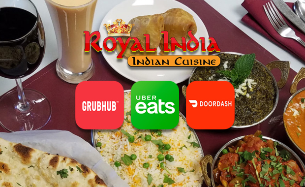 Royal India Delivery Options
