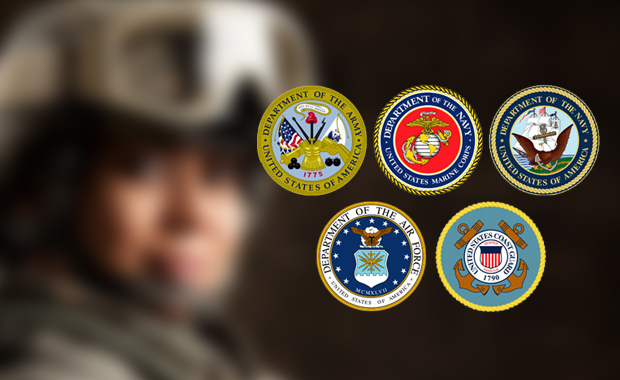Show your military I.D. get 10% off